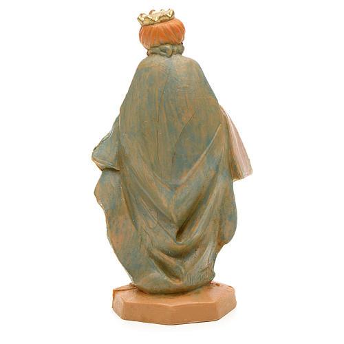 Król Mędrzec mulat 6.5 cm Fontanini 2