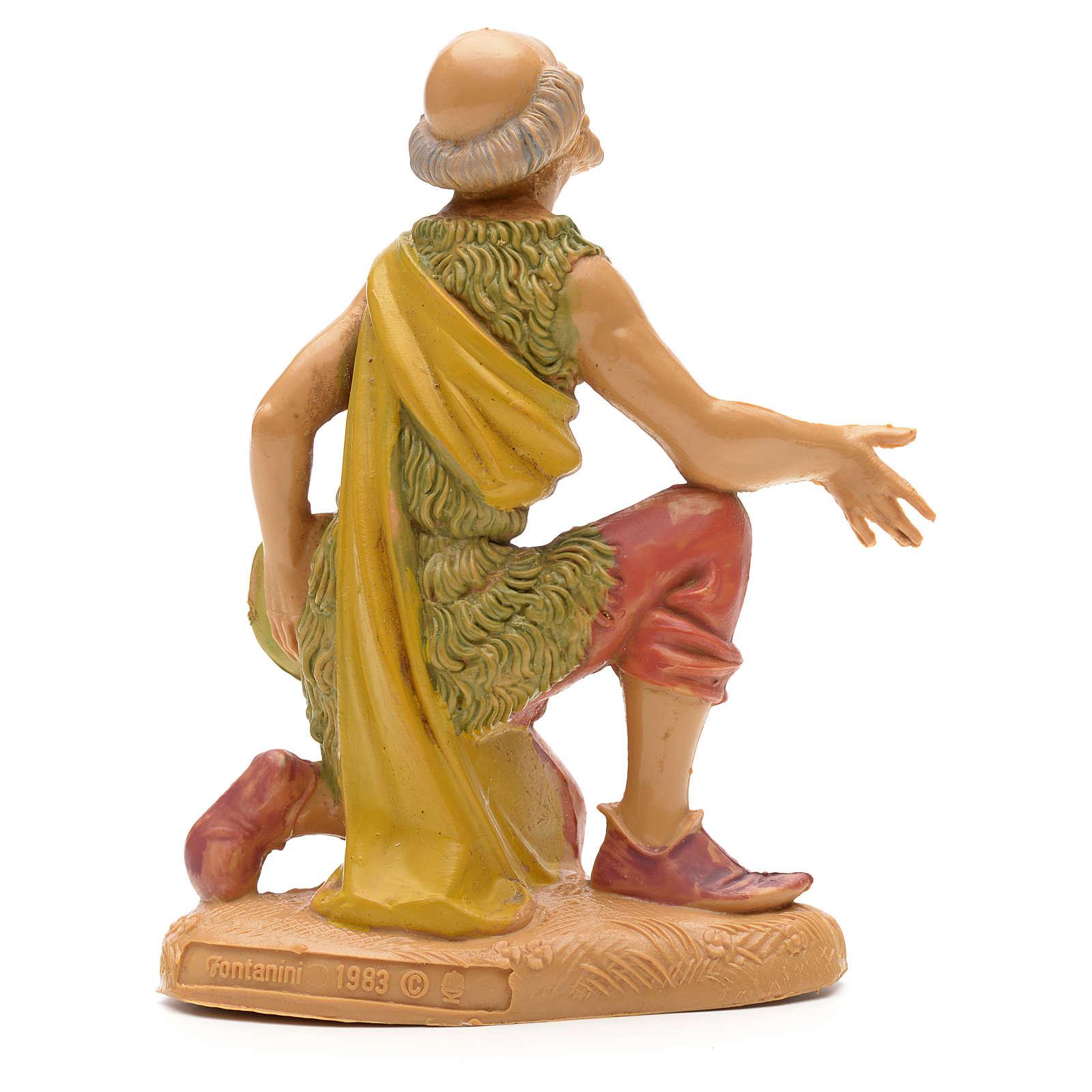 Pastor en rodillas 12 cm Fontanini 4