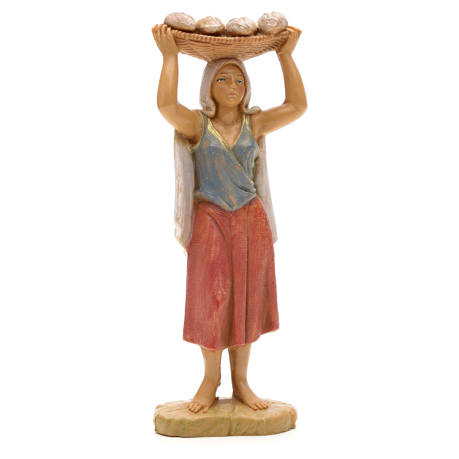 Pastora con bandeja 12 cm Fontanini 4