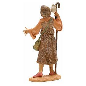 Pastor con bastón y bolsa 12 cm Fontanini s2