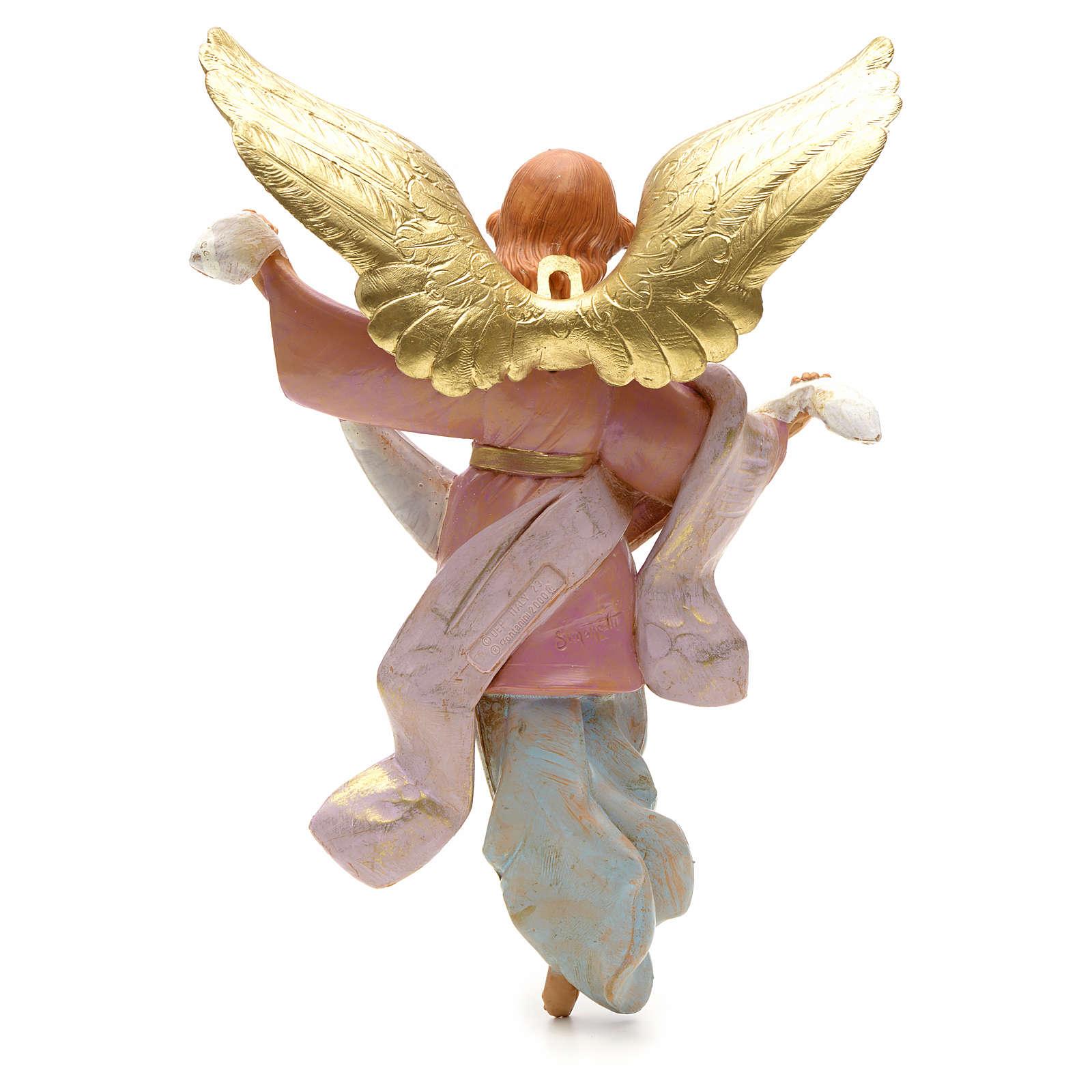 Ange de la gloire debout crèche Fontanini 30 cm 4