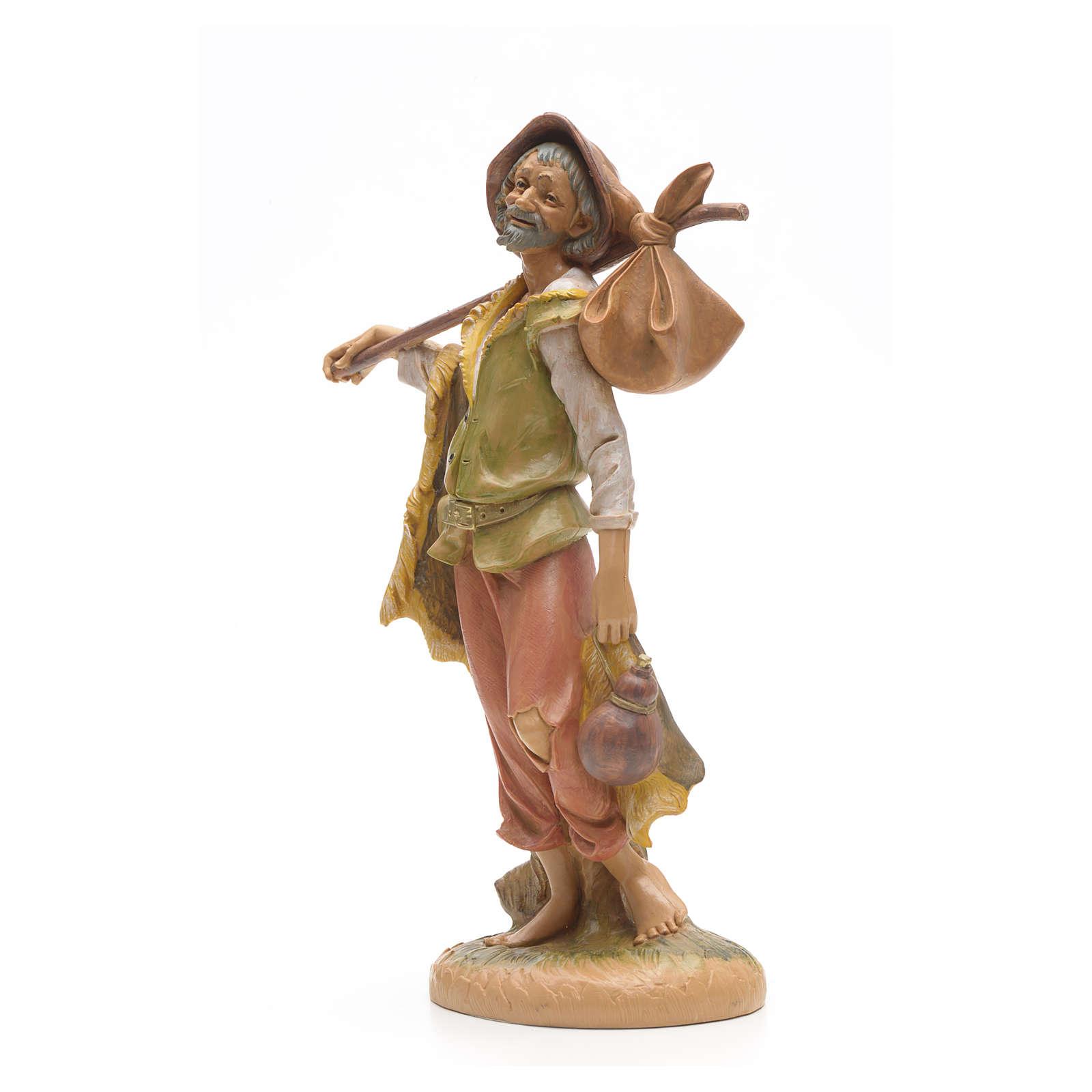 Pastor con fardo 30 cm Fontanini 4