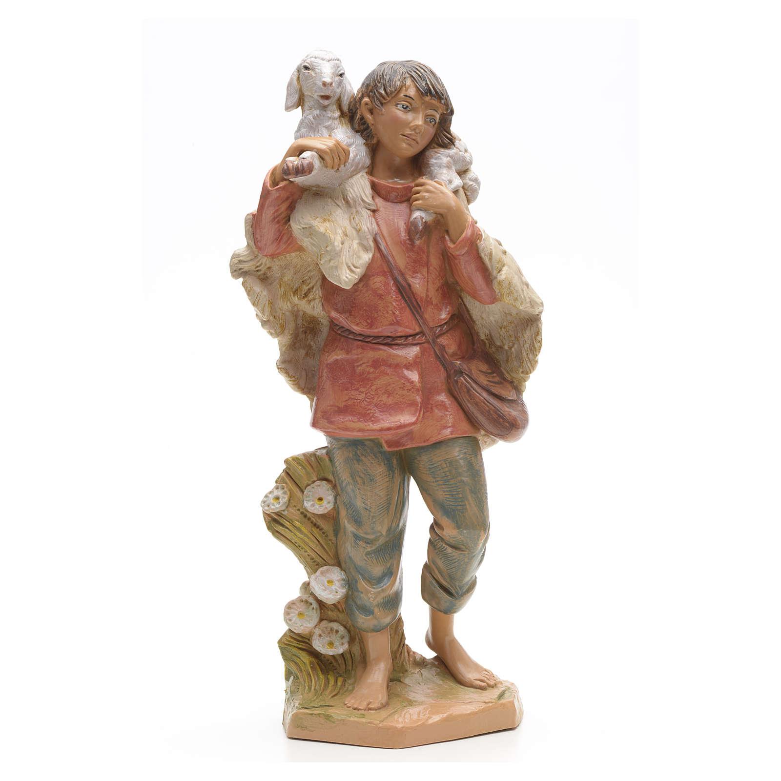 Pasterz z owcą Fontanini 30 cm 4