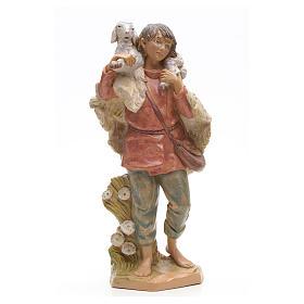 Pasterz z owcą Fontanini 30 cm s1