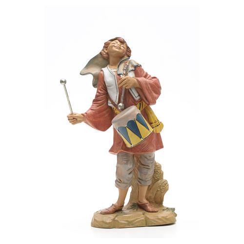 Pastor con tambor 30 cm Fontanini 4