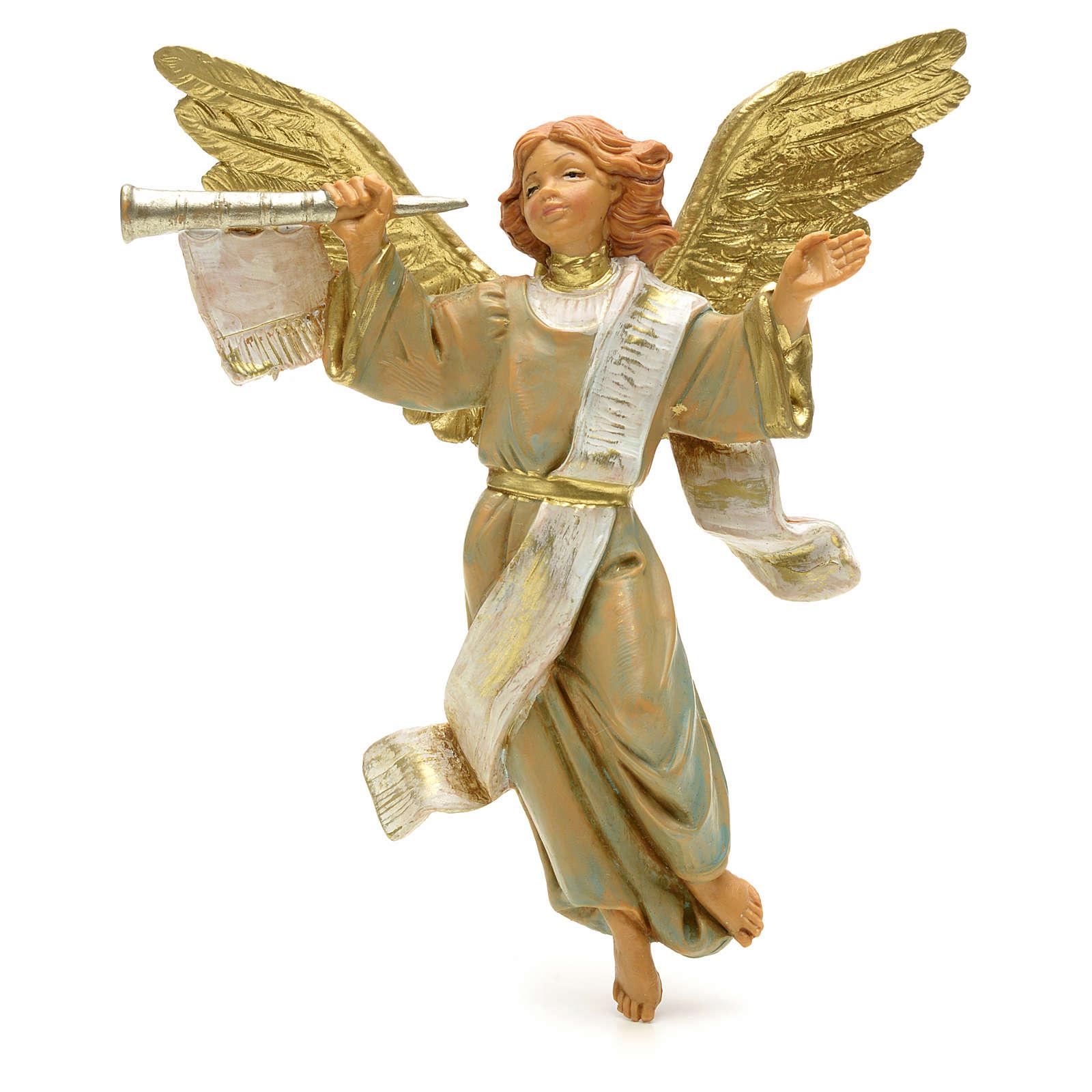 Anioł z trąbką 12 cm Fontanini 3