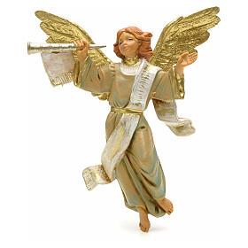Anioł z trąbką 12 cm Fontanini s1