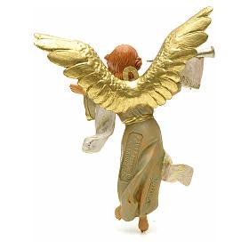 Anioł z trąbką 12 cm Fontanini s2