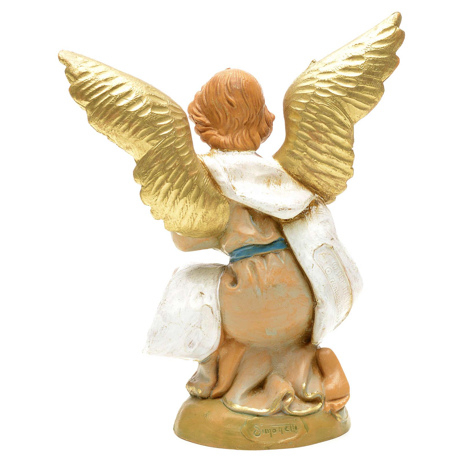 Krippenfigur Engel auf den Knien Fontanini 12 cm 3