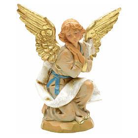 Krippenfigur Engel auf den Knien Fontanini 12 cm s1