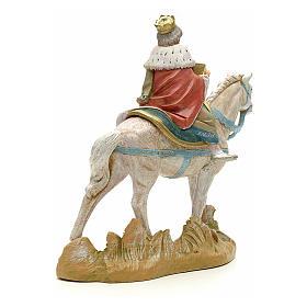 Re magio bianco a cavallo cm 19 Fontanini s3