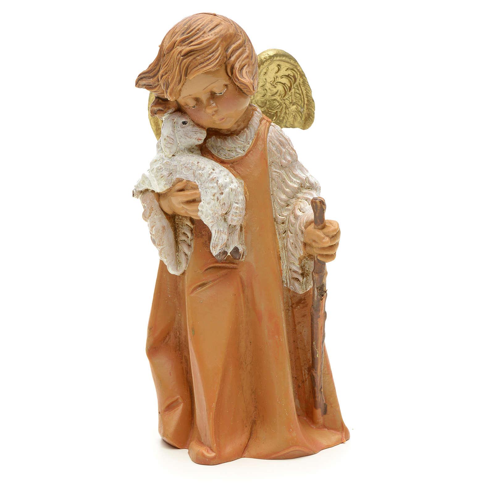 Ángel con oveja cm 19 Fontanini 3
