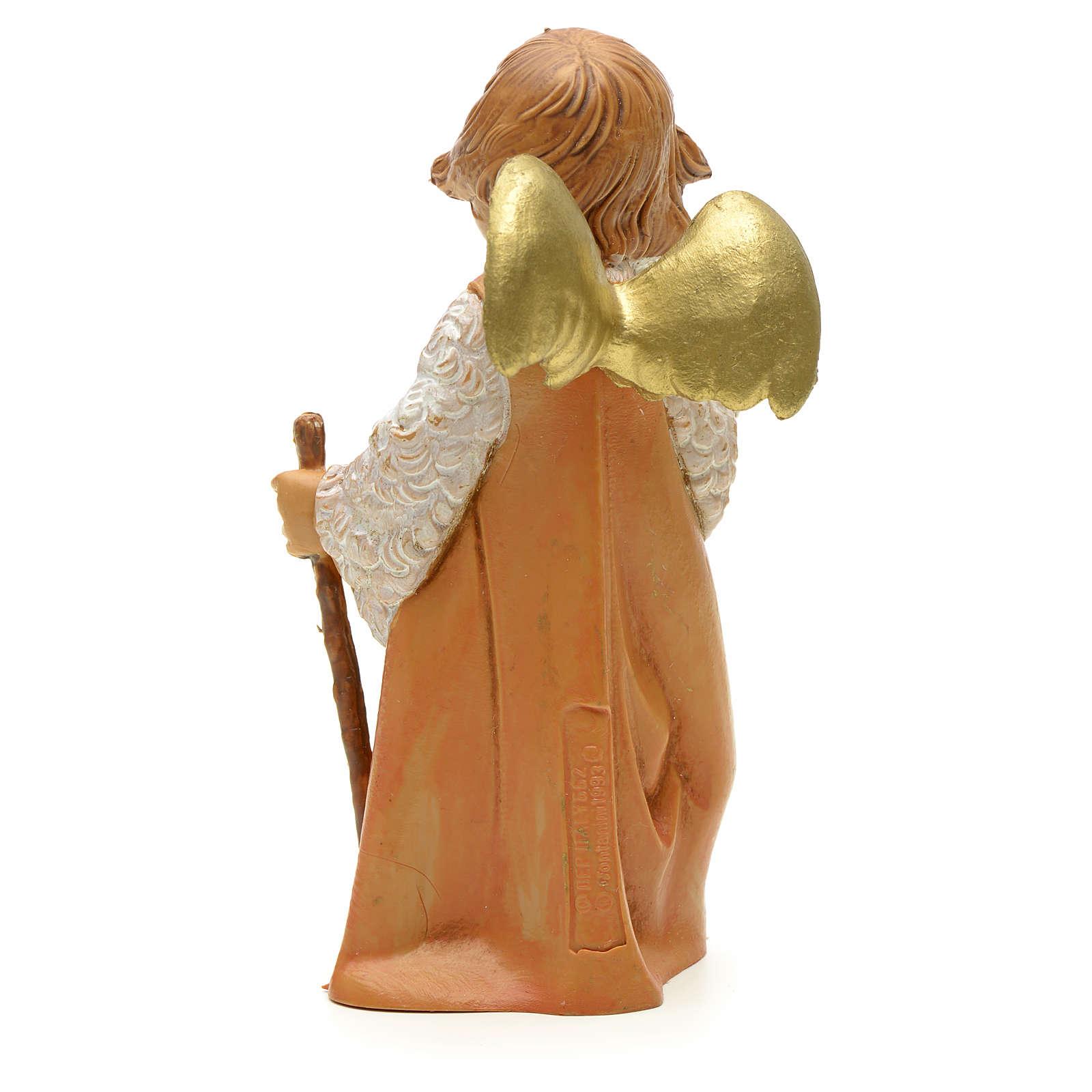 Angioletto con pecorella cm 19 Fontanini 4