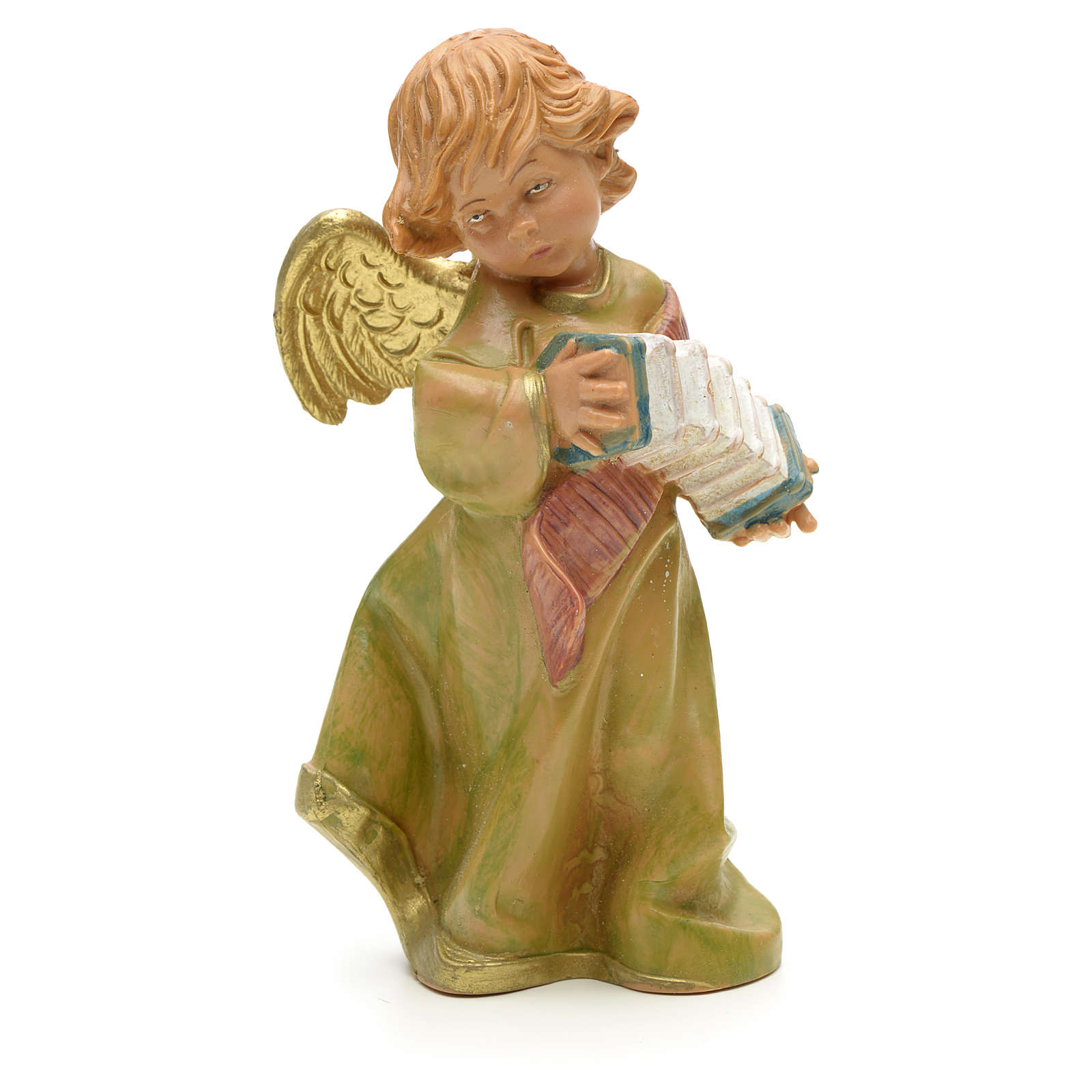 Ángel con acordeón cm 19 Fontanini 4