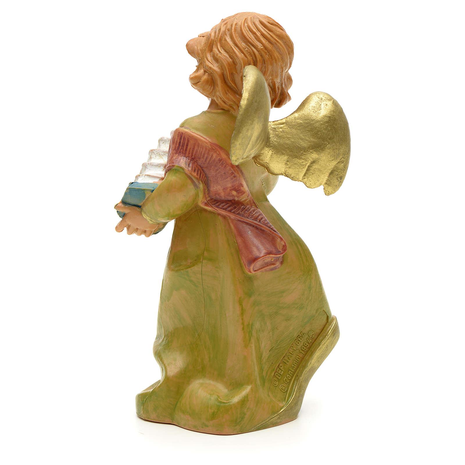 Aniołek z akordeonem Fontanini 19 cm 3