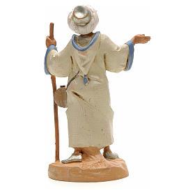 Berger avec bâton crèche Fontanini 12 cm s2