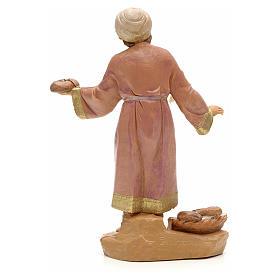 Pastore con pane 12 cm Fontanini s2