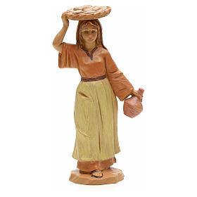 Figuras del Belén: Muchacha con bandeja 12 cm Fontanini