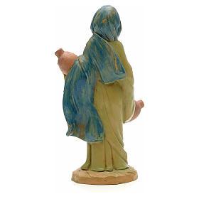Mädchen Figur, mit Amphoren, 12 cm Fontanini s4