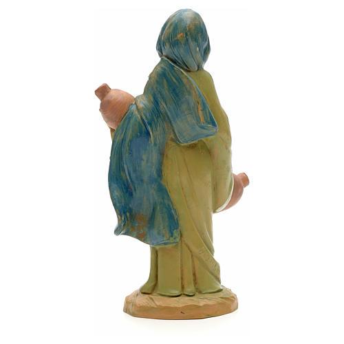Mädchen Figur, mit Amphoren, 12 cm Fontanini 4