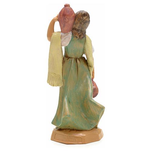 Mädchen Figur, mit Amphoren, 12 cm Fontanini 6