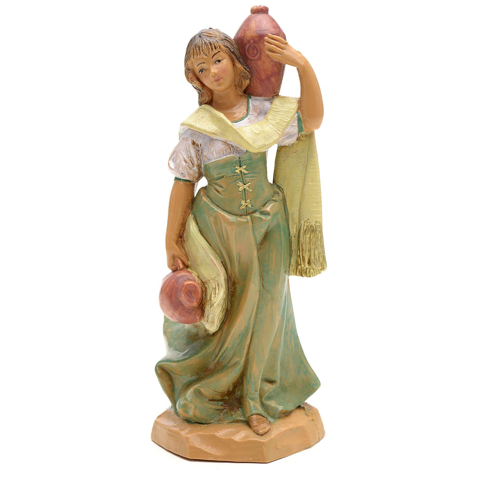 Dziewczyna z amforami Fontanini 12 cm 4