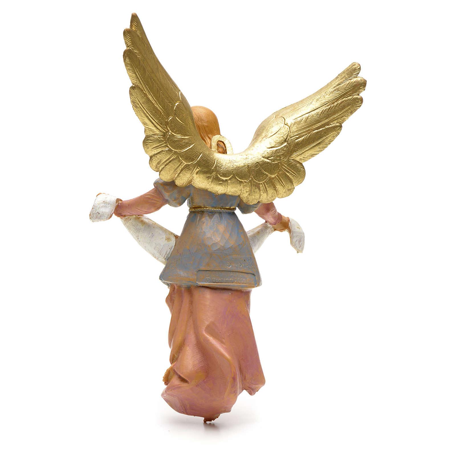 Ange gloire crèche Fontanini 19 cm 3