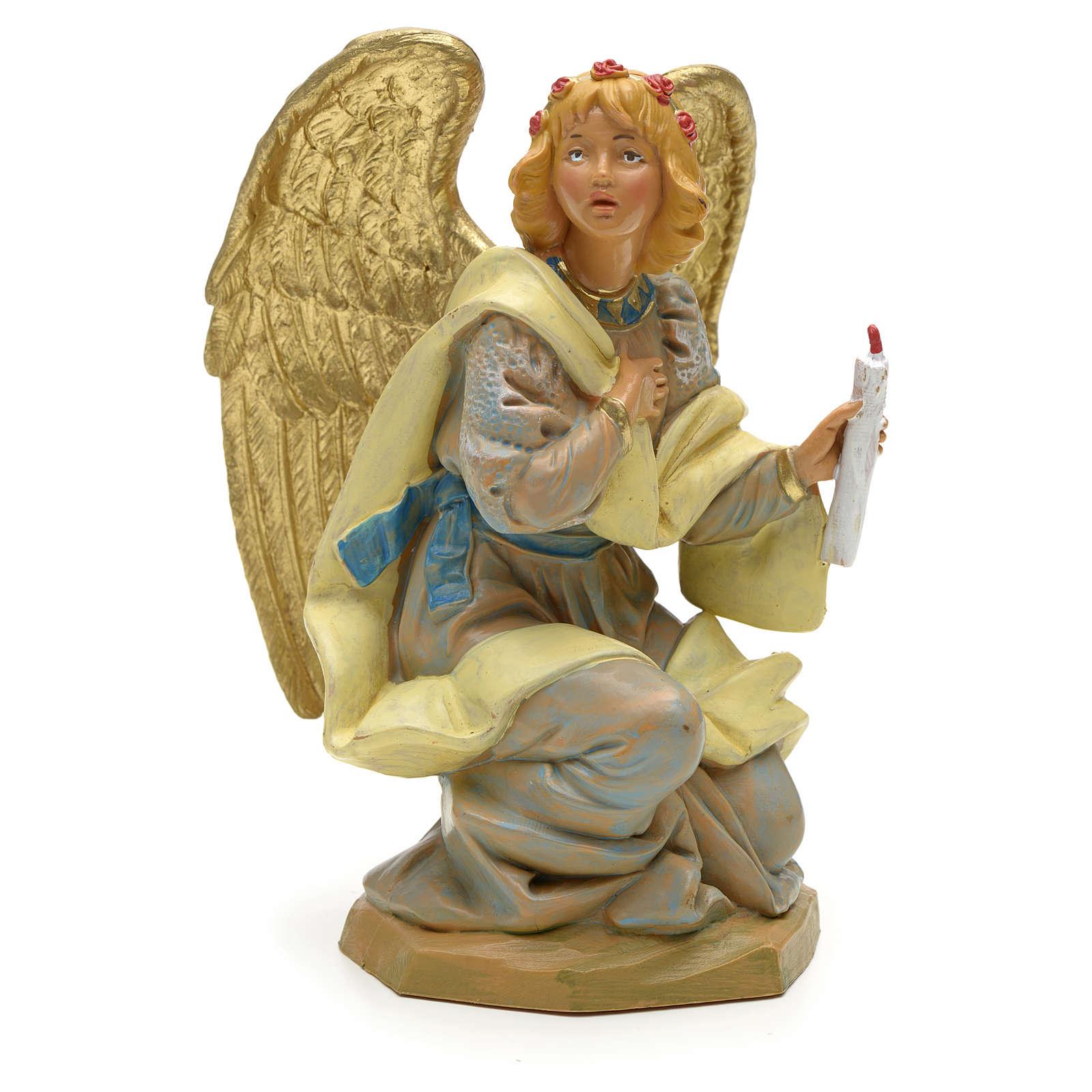 Ángel en rodillas 19 cm Fontanini 4