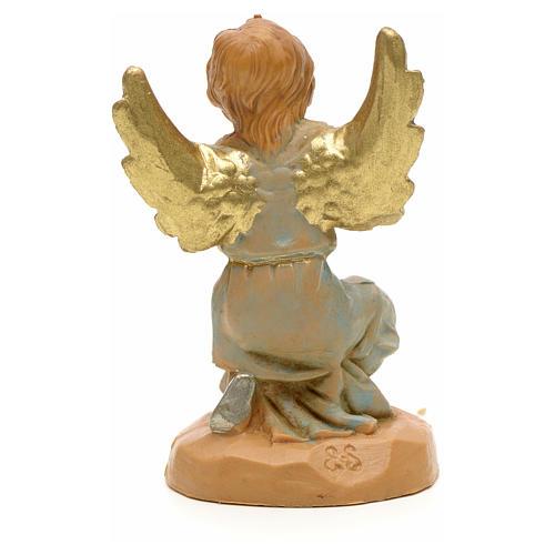 Anjo em adoração para Presépio Fontanini com figuras de altura média 6,5 cm 2
