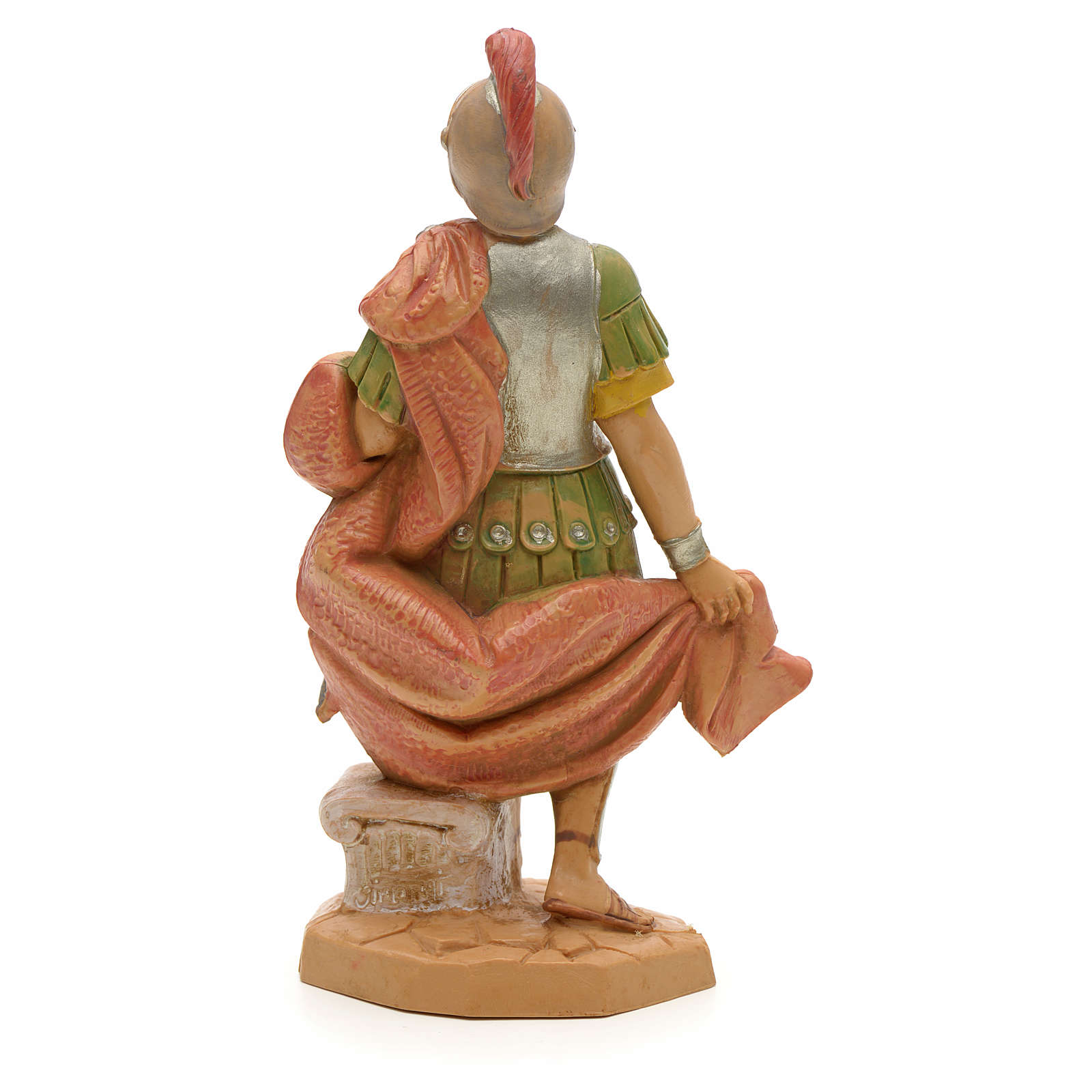 PVC römischer Soldat mit Schwert 12 cm Fontanini 4