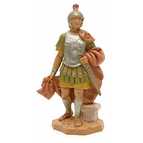 PVC römischer Soldat mit Schwert 12 cm Fontanini 1