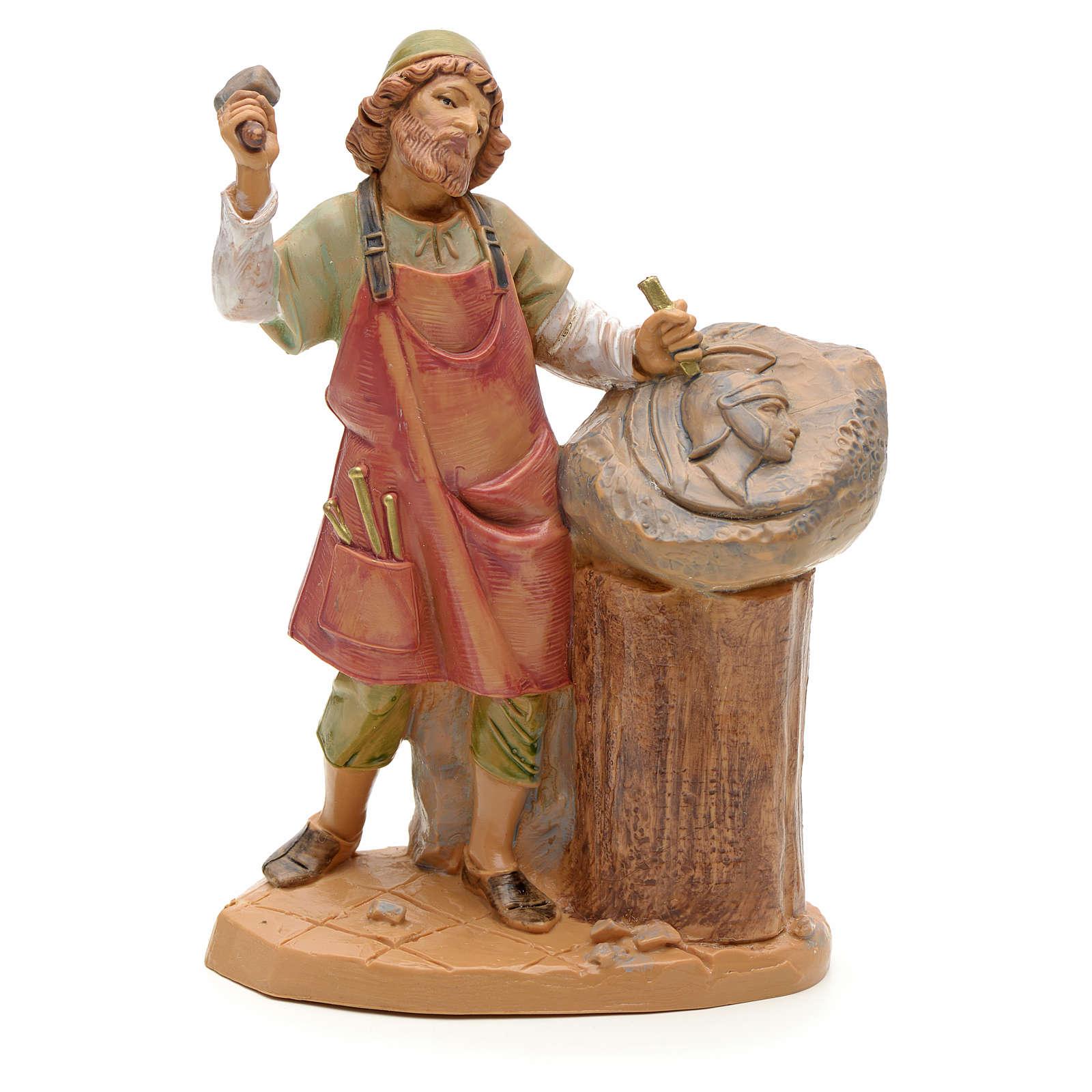 Sculpteur crèche Fontanini 12 cm 3