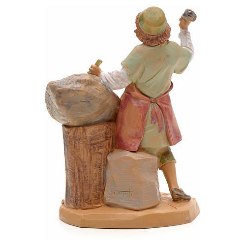 Sculpteur crèche Fontanini 12 cm 2