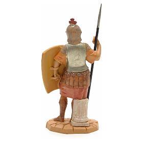 Soldato romano con scudo 12 cm Fontanini s2