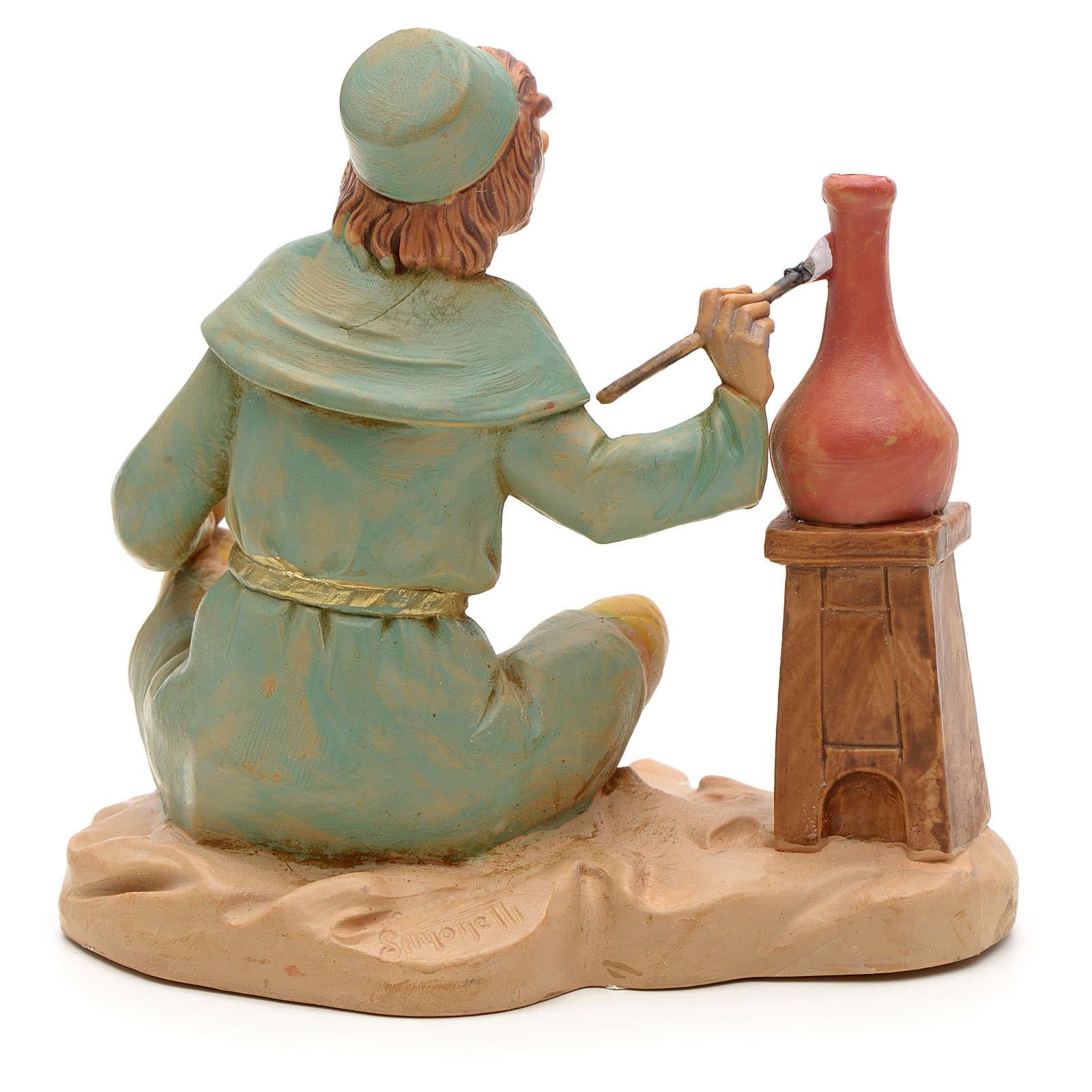 Potier crèche Fontanini 12 cm 3