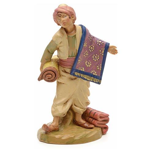 Pastor con alfombras 12 cm Fontanini 1