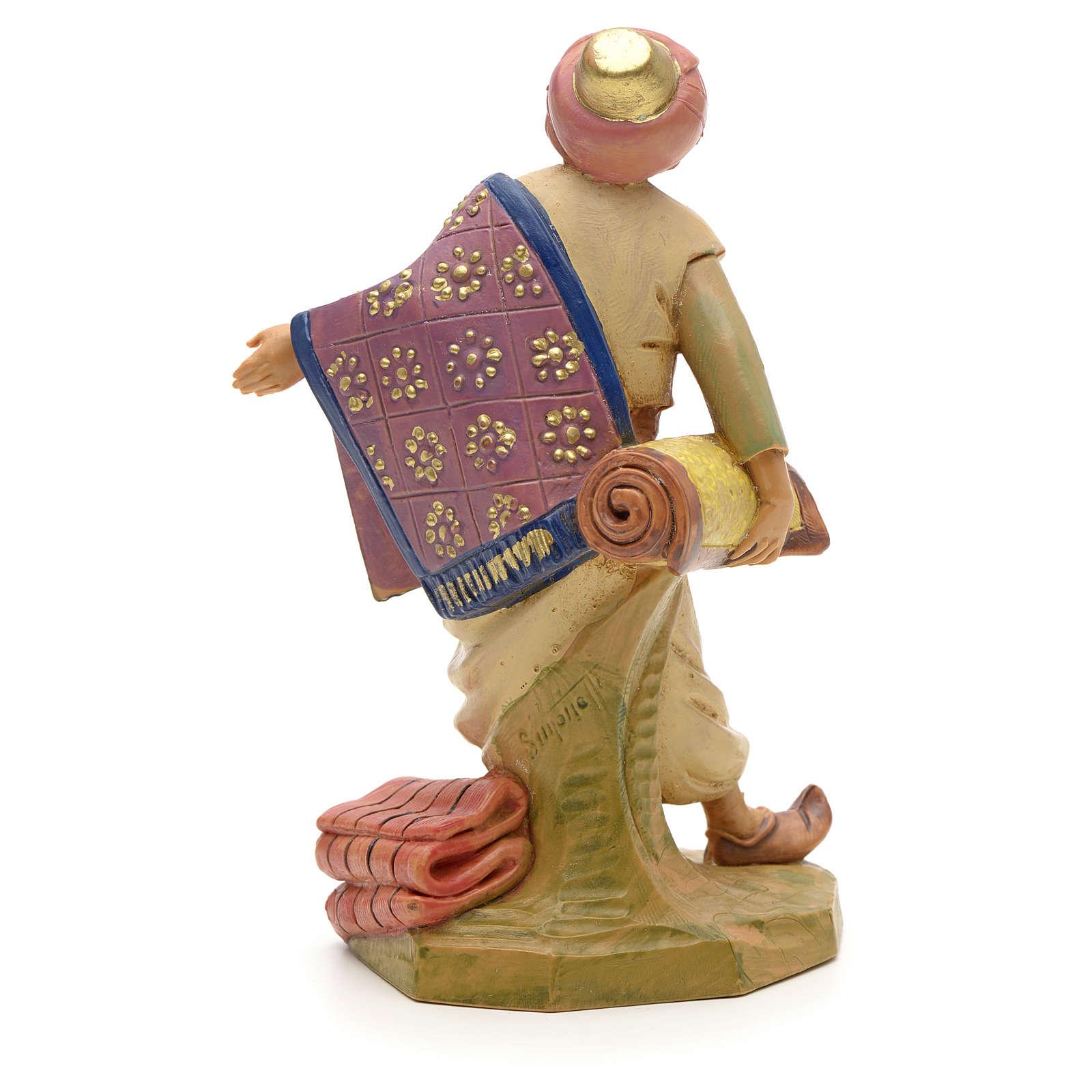 Pastore con tappeti 12 cm Fontanini 3