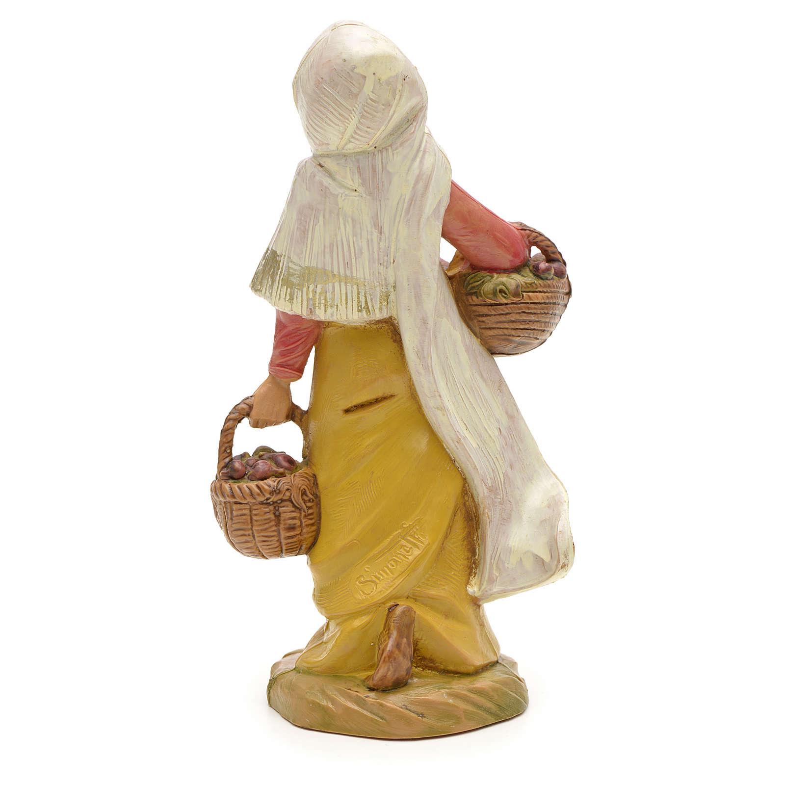 Pastora con higos 12 cm Fontanini 3