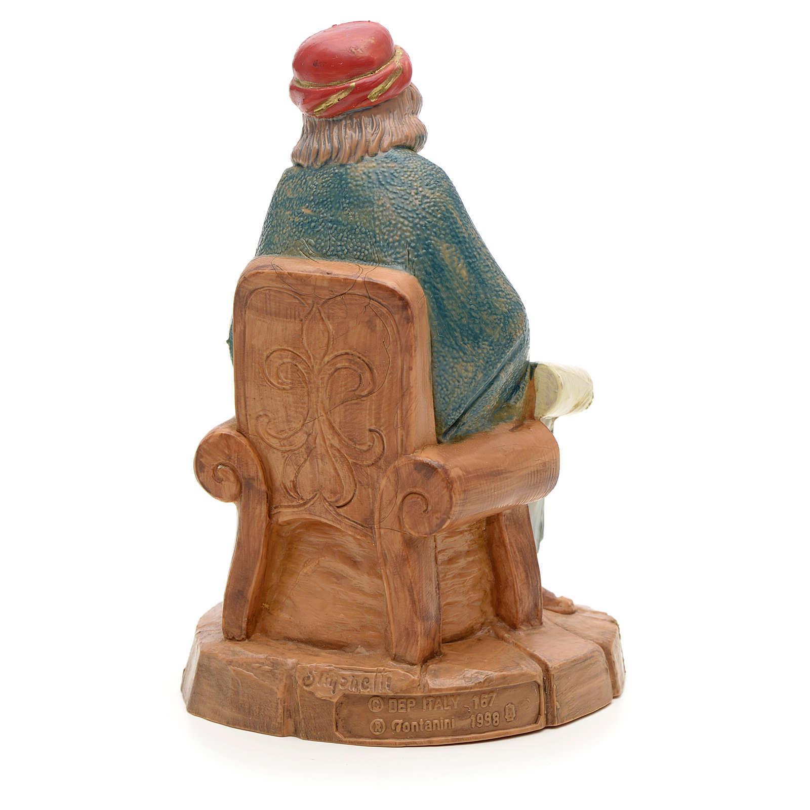 Le maître crèche Fontanini 12 cm 3