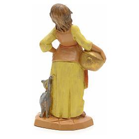 Femme enceinte crèche Fontanini 12 cm s2