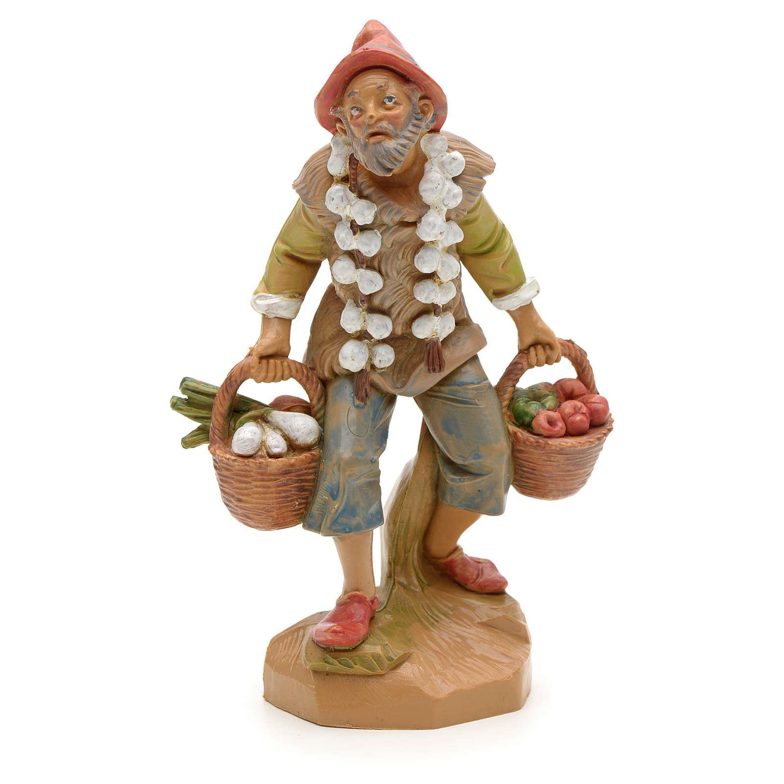 Rolnik z warzywami 12 cm Fontanini 4