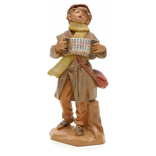 Ragazzo con organetto 12 cm Fontanini 1