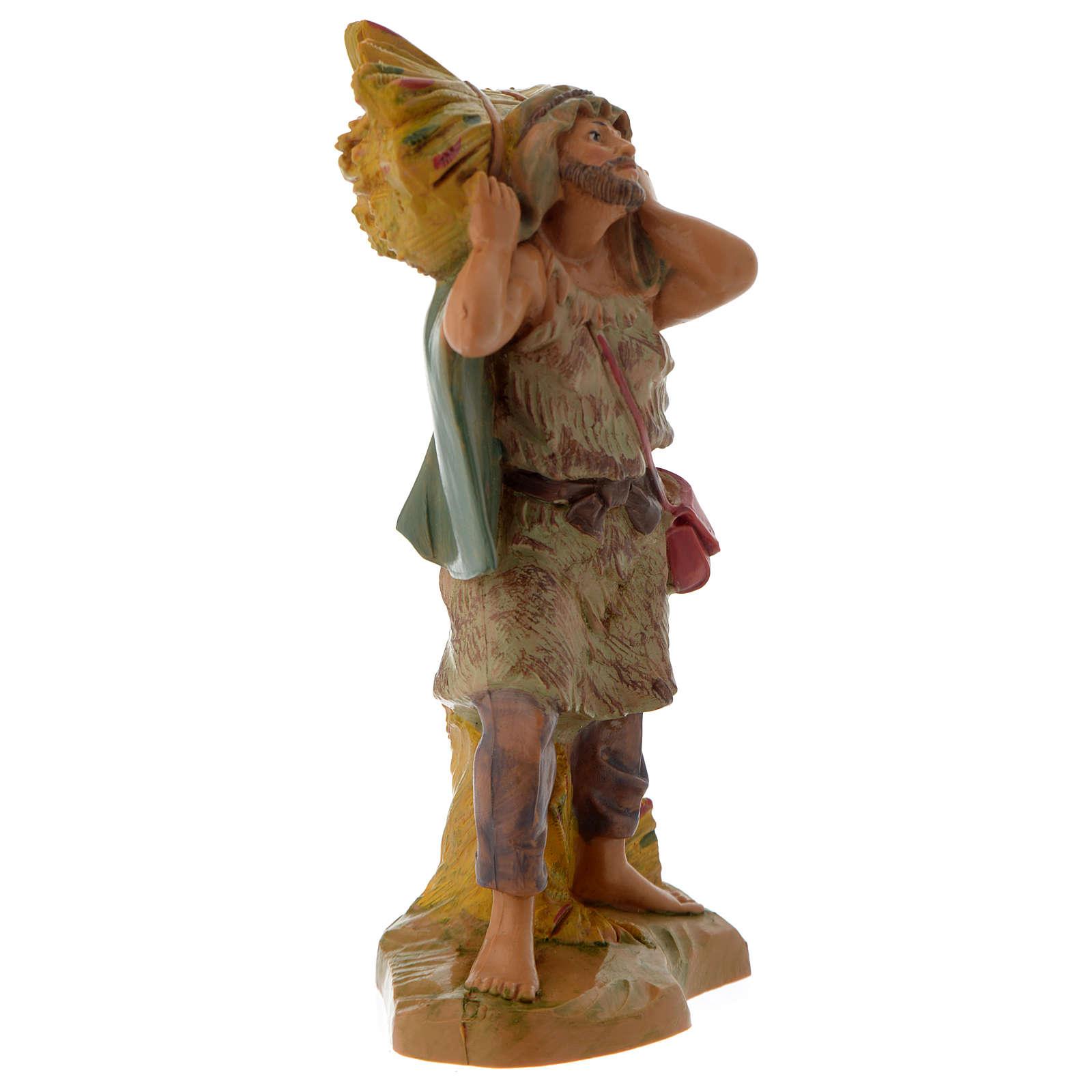 Pastore con fascina 12 cm Fontanini 4