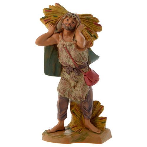Pastore con fascina 12 cm Fontanini 1