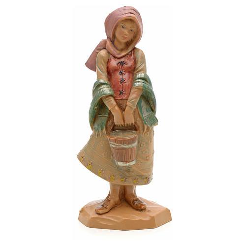 Dziewczyna z wiadrem 12 cm Fontanini 1