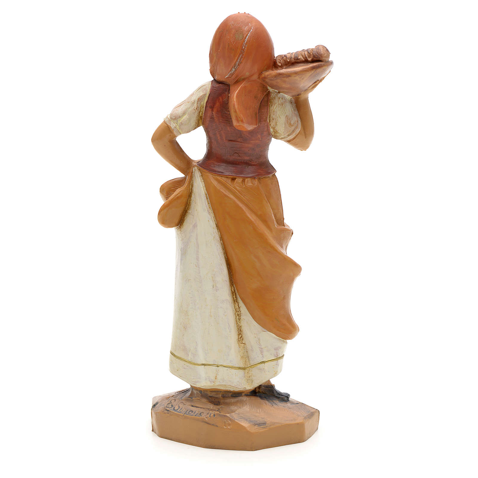 Hôtesse crèche Fontanini 12 cm 3