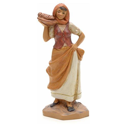 Hôtesse crèche Fontanini 12 cm 1