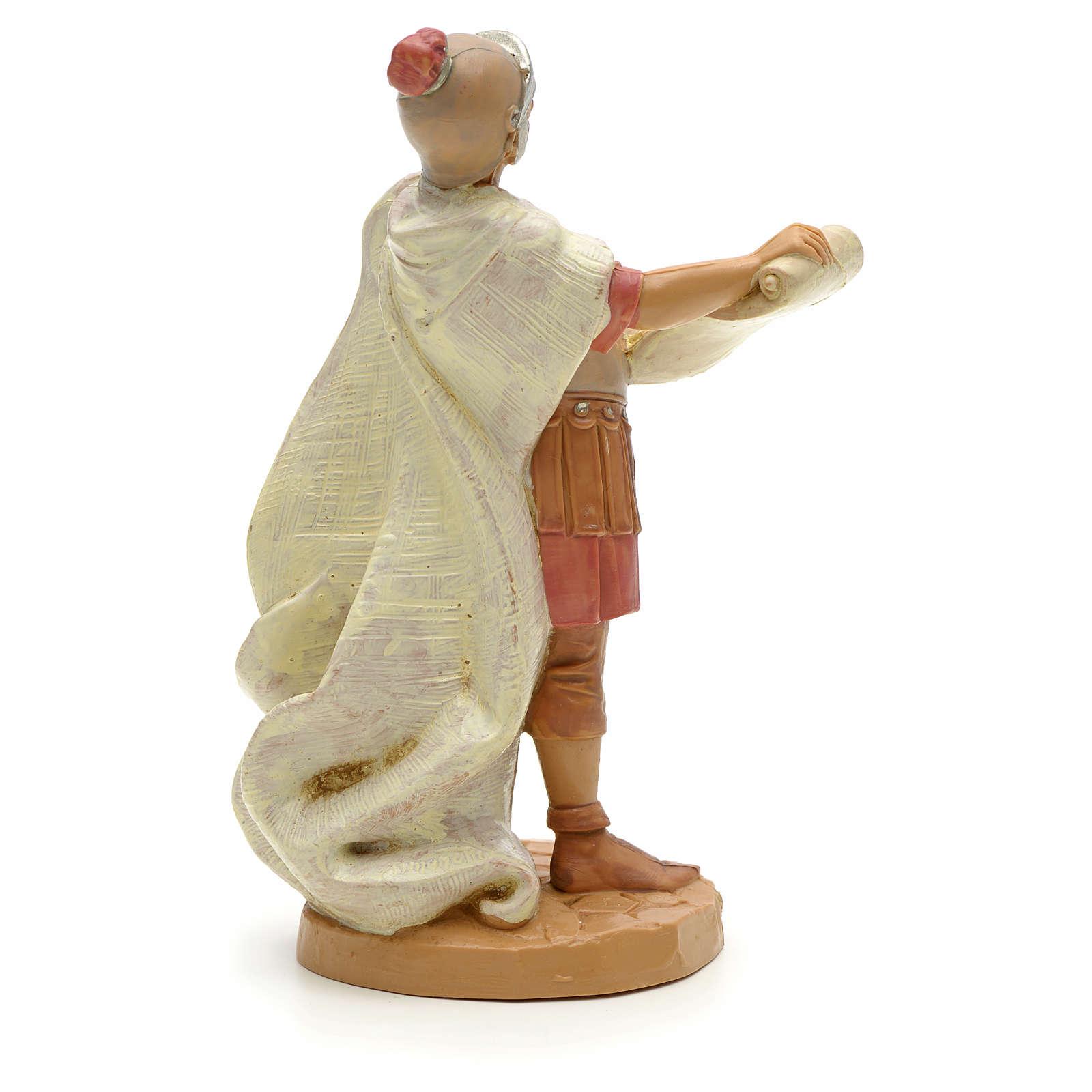 Soldado romano con pergamina 12 cm Fontanini 3