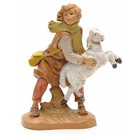 Ragazzo con pecorella 12 cm Fontanini s1