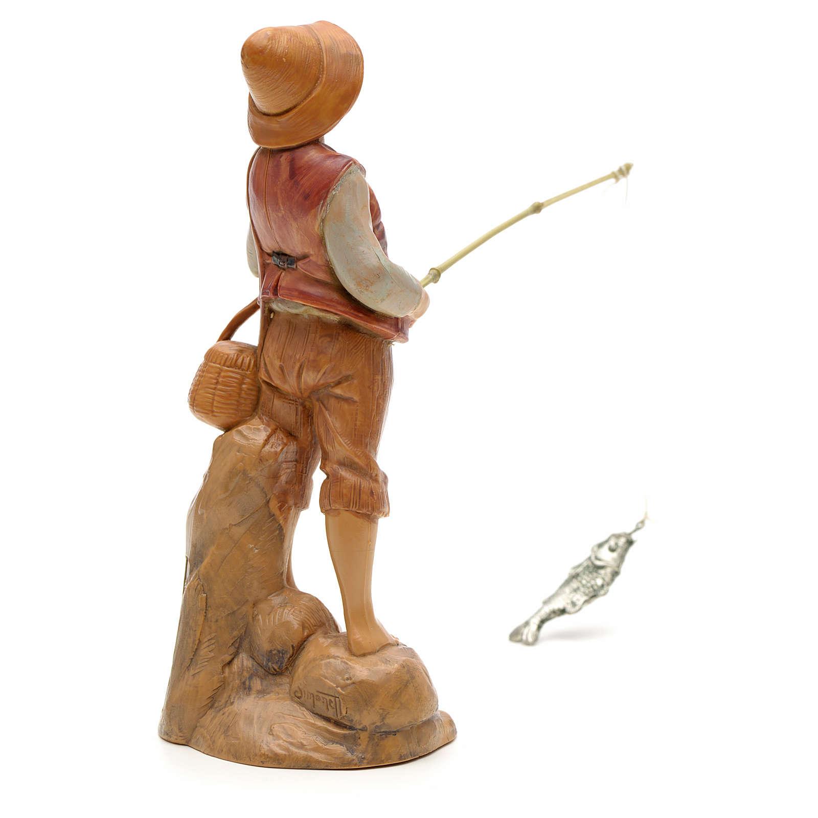 Rybak stojący 12 cm Fontanini 4